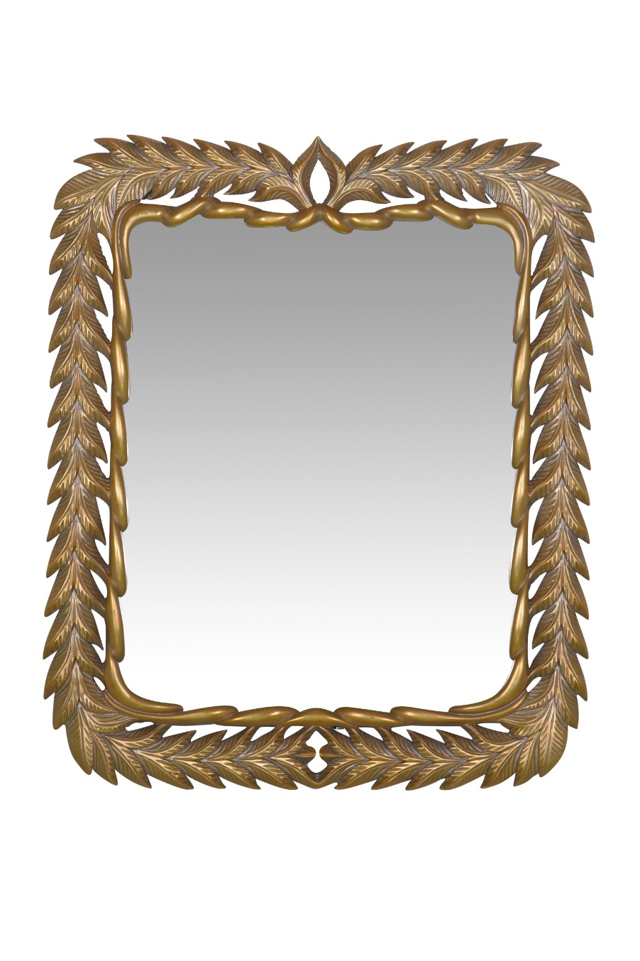 Capucine, French Style Gold Leaf Mirror