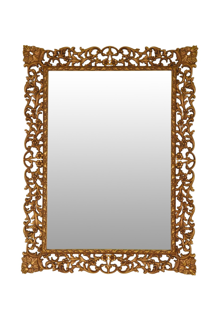 Renoncule, French Style,Gold Leaf, Mirror