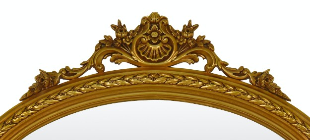 Lilas, French Style, Gold Leaf,Wall Mirror