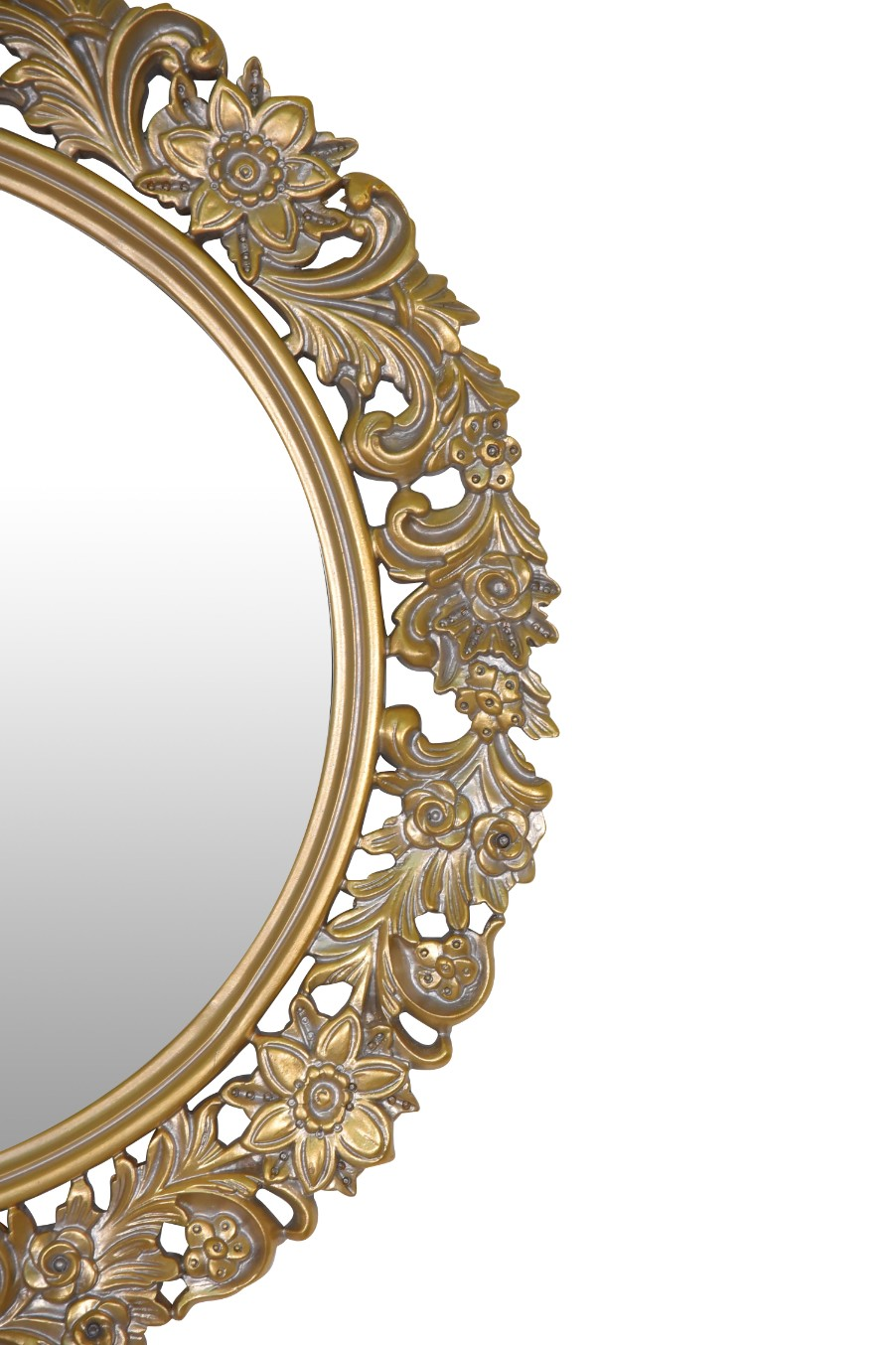 Primevère, French Style, Gold Leaf, Wall  Mirror