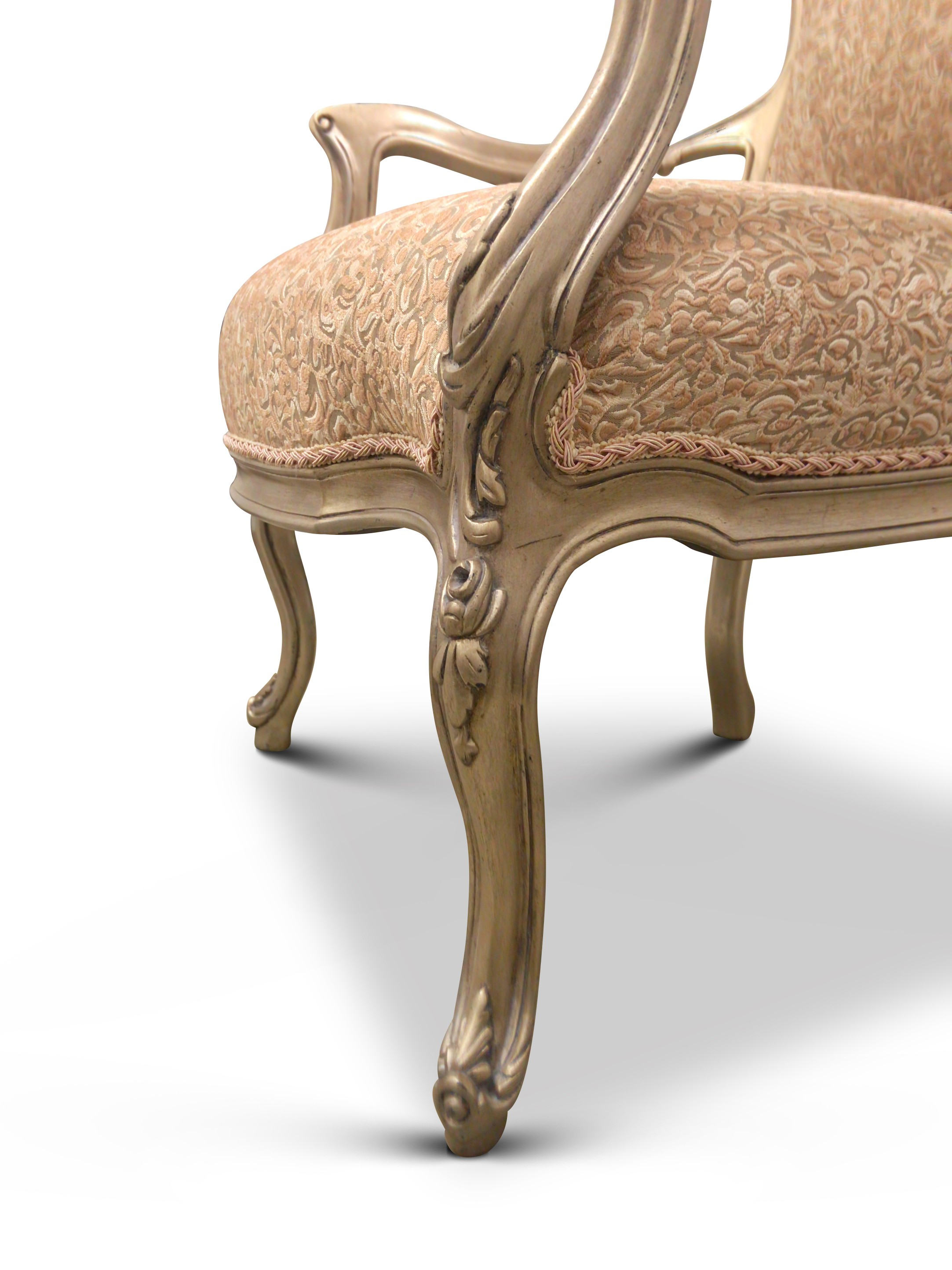 Acanthus,French Design,Gilt-wood,  Armchair (Set of 2)