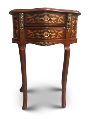 Phalangère, French Style , marquetry Art , Solid Wood , Commode