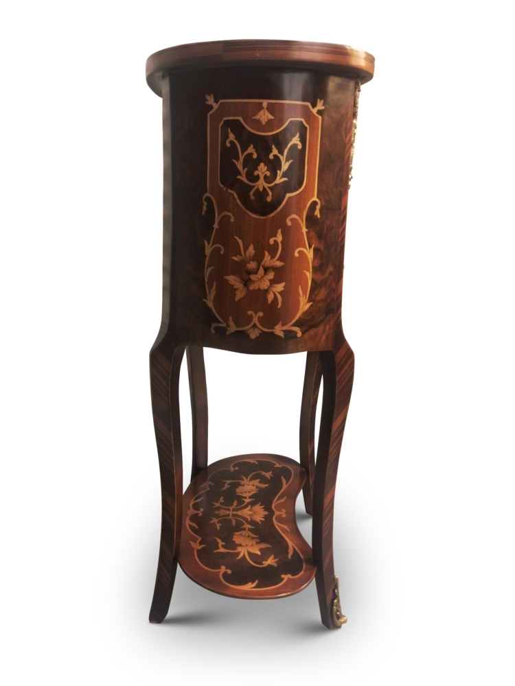 Mouron rouge, French Style , Marquetry Art , Solid Brass, Commode