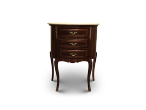 Cardére, Fench Style, Marble Top , Solid Brass, Commode